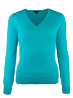 Isabell Werth Pullover Sommer Basic blue
