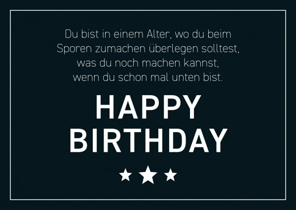 "Postkarte ""happybirthday2"""