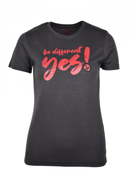 """Isabell Werth T- Shirt """"be different"""" anthrazit"""