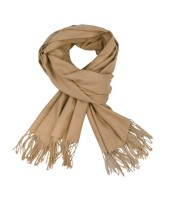 Isabell Werth Cashmere-Mix Schal light khaki