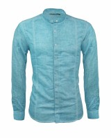 Isabell Werth Herren Hemd Claude light blue