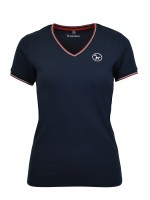 Isabell Werth T- Shirt Piqué Martina navy